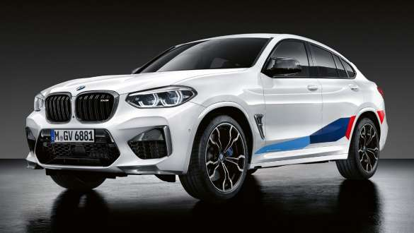 BMW X4M z akcesoriami BMW M Performance Parts.